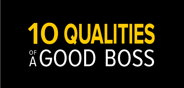 10 Qualities of a Good Boss – Infographic