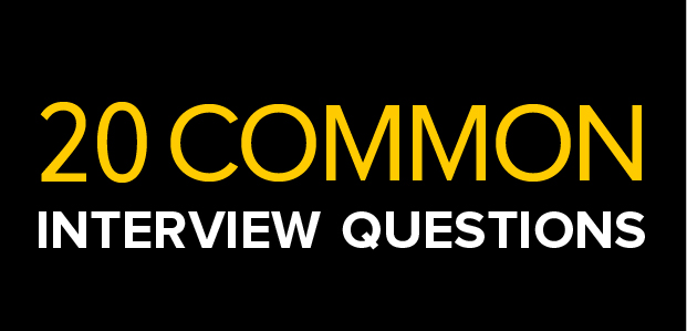 20 common interview questions