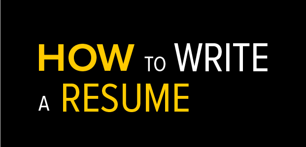 How To Write A Resume - Infographic