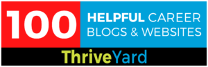 Site-Badge for 100 Helpful Career Blogs and Websites – ThriveYard